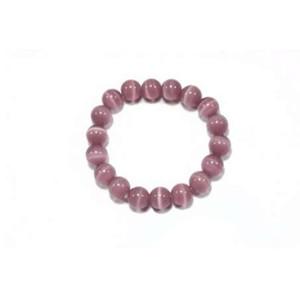 Bracelete novo do grânulo do opal do roxo 8mm do projeto, braceletes das mulheres, jóia por atacado