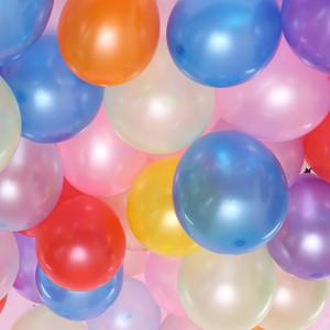 도매 10inch 웨딩 파티 장식 풍선 두꺼운 아치 장식 풍선 $ 100PCS / 가방 패딩 라운드 원형 풍선