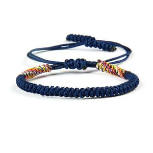 Ailatu Art- und Weisesommer Sandbeach Schmucksache-Großhandels10pcs / lot handgemachtes Mehrfarbenflechtenmakrameearmbänder neues Armband für Geschenk