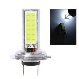 Super High Power COB 20W H7 LED White Car Light Lamp Bulb for Fog Driving   DRL