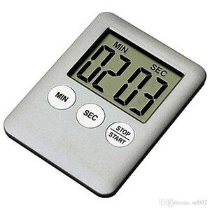 Ultradünne ultra helle Küche elektronische Timer stilvolle bunte tragbare Erinnerung Gerät magnetische Kochen Artikel tragbare Alarm 4 59wm Ww