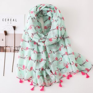 Factory Wholesale New 2018 Frauen Sommer Frühling Schal Herbst Schal Brid Muster Travel Wrap Free Shiiping