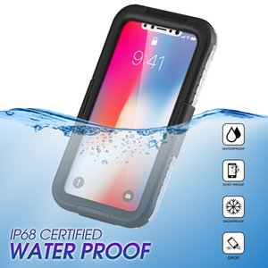 Waterproof Swimming Diving Cover for Iphone 11 PRO XS MAX XR x 8 7 6s Plus Mobile Phone Cases For Samsung s9 S8 S10 Plus note 9 10 Funda