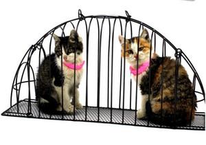 무료 배송 고양이 목욕 케이지 애완 동물 개 가방 더블 도어 캐리어 주입 안티 잡아 물린 캐리지 쉬운 고양이 1PC001