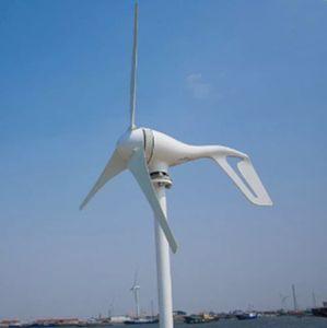 Rüzgar Türbini 400 W 400 W Rüzgar Jeneratörü Kontrol Ve CE RoHS Onayı Ile Birleştirin LLFA