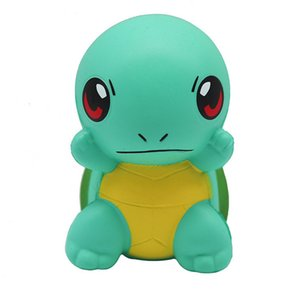 Kawaii Squishy Cartoon turtles Pocket Monster Slow Rising Scented Squeeze Toy Relieves Stress Anxiety Home DecorationToy Gifts