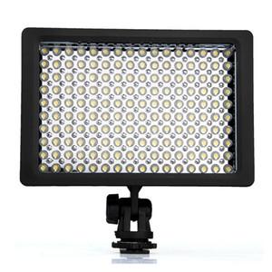 LD-160 9.6 w iluminação de fotografia levou luz de vídeo photo studio camera iluminador de luz 5400/3200 k pode ser escurecido para canon camera