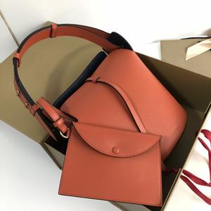 aramex DHL livraison gratuite sacs de luxe en cuir véritable de la ceinture seau fourre-tout sacs à main