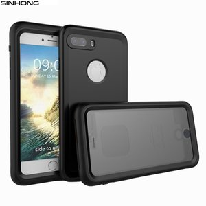 Ip68 10m Deep Waterproof Case For Apple Iphone 7 7 Plus 7plus Cover Shockproof 360 Full Body Protect Fundas For Diving Swimming