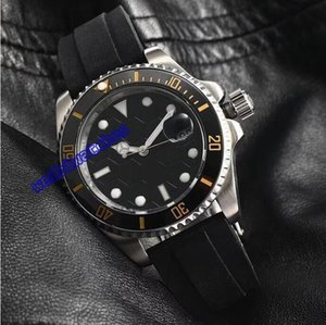 2018 lastest populares RELÓGIOS ESPORTE Black Dial Sapphire rosto Pulseira De Aço Inoxidável Automático Homens Relógios suíços de relógios de marca famosa