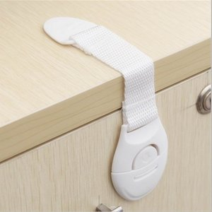 1000pcs lot Cabinet Door Drawers Refrigerator Toilet Safety Plastic Lock For Child Kid baby safety