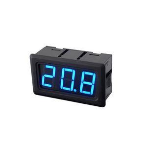 Tester analogico di tensione di pannello di CC di 2 unità Mini voltmetro digitale Antidust 100mV 500V 20V Voltmetro Voltmetro digitale