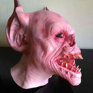 Máscara de Halloween Máscara de disfraces Máscaras de látex Realista Crazy Rubber Creepy Party Mask Disfraz de Halloween S3