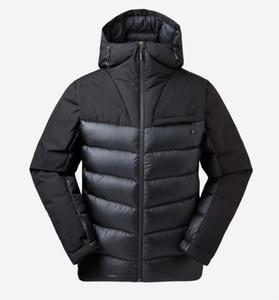 Trajes de esquí para hombres al aire libreNew otoño / invierno 2018 800 acolchados térmicos para hombres al aire libre, pantalones cortos al aire libre, trajes de esquí para hombres