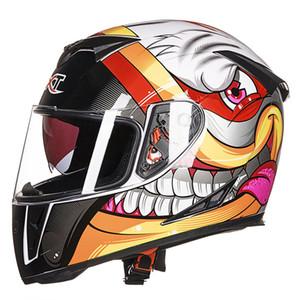 Casque de moto GXT-358 Full Face atv hors casques de course sur route cross casque de moto de vélo pour Femmes Hommes Casque De Moto