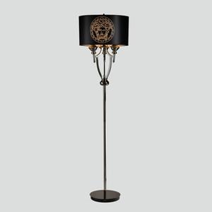 현대 단순한 하드웨어 디자이너 모델 룸 램프 침실 침실 램프 연구실 플로어 램프