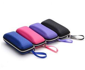 New glasses box men and women fashion sunglasses portable case EVA zipper box factory direct sales