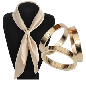 Großhandelshochwertiges reines Kupfer überzog drei-Ring silk Schalwölbung kundenspezifischen Ring, hochwertige europäische und amerikanische drei-Ring Schalwölbung