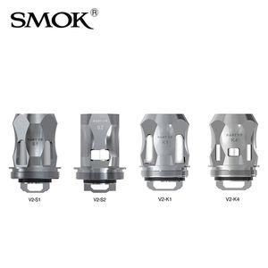 SMOK TFV8 Baby V2 Bobines Tête S1 S2 K1 K4 Atomizer Core Bobine de Remplacement pour TFV8 Baby V2 Réservoir 100% Original