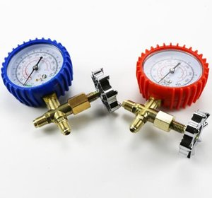 466 Single Table Valve R22 R134 Automobile Air Conditioning Refrigerator Maintenance Fluorinated High and Low Pressure Gauges