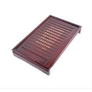 Preferenza Kung Fu Tea Set naturale solido Vassoio Tea rettangolare in legno Legno tradizionale Puer vassoio del tè Big Size