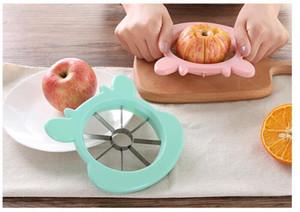 Kesme elma çekirdeği paslanmaz çelik meyve dilimleyici