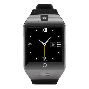 1PCS Q18 Bluetooth Smart Watch Phone with 0.3M Camera MTK6261D Smartwatch for android phone Micro Sim TF card Men Women Watch