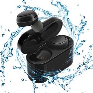Kablosuz Kulakiçi Sweatproof Bluetooth 4.1 Gürültü Dahili Mikrofon ve Spor Salonu için 500mAh Şarj Kılıfı ile Kulak İçi Spor Kulaklıkları