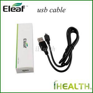 100% Аутентичные Eleaf iStick USB Кабельное Зарядное Устройство для Eleaf iStick 20 Вт 30 Вт 40 Вт 50 Вт мини 10 Вт Батарея мод Dhl быстрая доставка