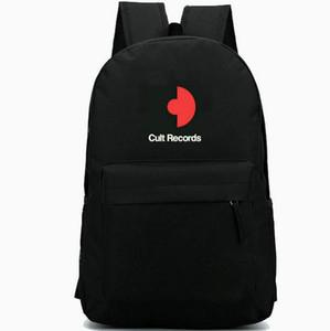 Cult records backpack Nuovo arrivato daypack Music schoolbag Zaino per il tempo libero Borsa da scuola sportiva Outdoor day pack