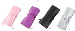 Professional 7 pcs Makeup Brush Set tools Make-up Toiletry Kit Wool Brand Make Up Brush Set Case free shipping PY free shipping