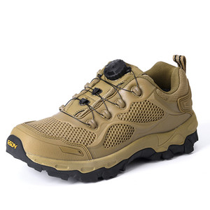 Outdoor Military combat Tactical Shoes Desert patchwork short Boots Men Rapid respon Hunting Ankle Lace-Up Hiking sneakers