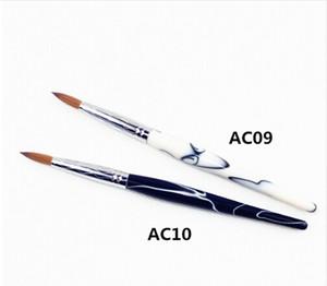 Vente chaude Usine Directe TAILLE 16 Nail Brush 100% Kolinsky Acrylique Nail Brush # 16 Livraison Gratuite