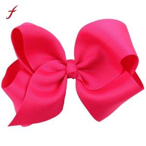 어린이 나비 클립 매듭 헤어 클립 아기 소녀 리본 부티크 머리 리본 클립 바람개비 어린이위한 활