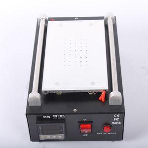 Nuovo 948Q pompa a vuoto incorporata Touch Screen LCD cellulare separatore Macchina Max 7 pollici Lens riparazione vetro + 100m filo di taglio