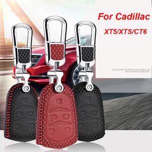Para Cadillac XT5 / XTS / CT6 Tecla inteligente Sin llave Entrada remota Fob Cubierta de la caja Llavero