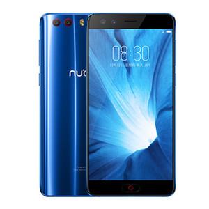 "Original ZTE Nubia Z17 Minis 6 GB de RAM 64 GB ROM 4G LTE Teléfono móvil Snapdragon 653 Octa Core 5.2"" teléfono de huellas digitales 16.0MP ID NFC celular inteligente"
