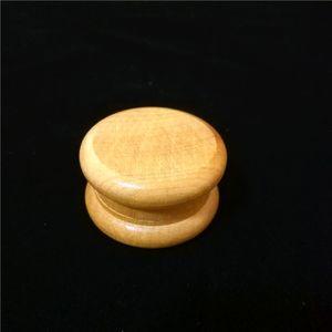 Nueva madera amoladoras de tabaco trituradoras de mango de hierba de madera trituradora 53 mm 2 piezas para fumar enrolladoras tubos para fumar envío gratuito