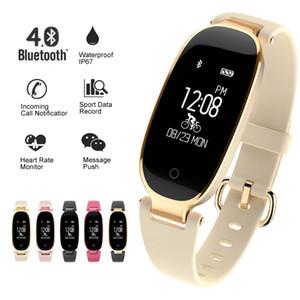 Soprt S3 Smart Watch Frauen Smart Armband Band Bluetooth Pulsmesser Fitness Tracker Smartwatch Für Android IOS ClockY1883101