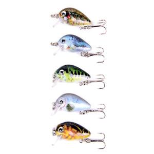 Fishing Lures Crank Bait 3cm 2g Fish Lure Hard Crankbait Swimbait Artificial Vivid Tackle For Bass Freshwater Saltwater