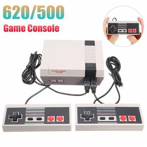 Mini Handheld Consola Do Jogo Pode Armazenar 620 500 Jogos 8 Bit Controladores Duplos Jogo Consoladores Para FC NES Retro Video Game Player
