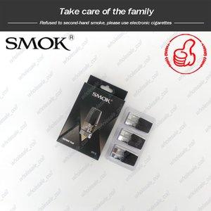 Auténtica SMOK Infinix Pod 2 ml 1.4ohm bobina de recambio vainas de cartuchos vacíos para Smoktech Infinix Vape Pen Kit de DHL