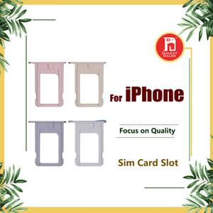 Für iPhone 5 5s 5c 5SE 6 6plus 6S 6s Plus 7 7 PLUS SIM-Kartenfach Halter Slot Ersatz Ersatzteile
