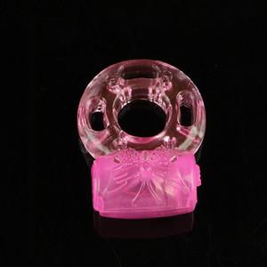 Vibrierender Ring Vibrator Rings Spielzeug Mann Ring Entspannung Frau Sex Silicon Penis Für Schwanz Erwachsene Penis LDKWP