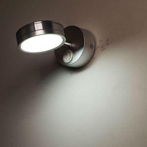 Anahtarı Ile 5 W LED Duvar Lambaları Yatak Odası Başucu Lambası Okuma Lambası Koridor Merdiven Aydınlatma Yönü Ayarlanabilir AC90-260V