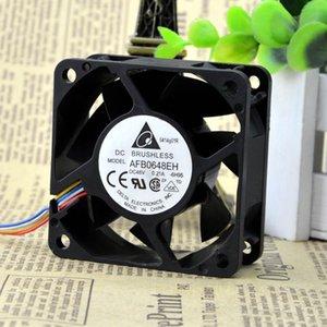Для Тайваня Delta DELTA AFB0648EH-6H95 6025 4-проводной ШИМ вентилятор скорости охлаждения