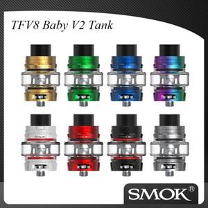 Authentique Smok TFV8 Bébé V2 réservoir avec V2 A1 A2 bobines tête pour Smok espèces Starter kit