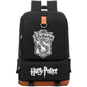 Zaino Serpeverde Hogwarts magic snake daypack Harry Potter schoolbag Leisure zaino Sport school bag Outdoor day pack