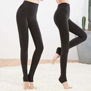 Normov inverno das mulheres mais leggings de caxemira moda tamanho grande quente super elástico falso veludo inverno grosso magro leggings venda quente
