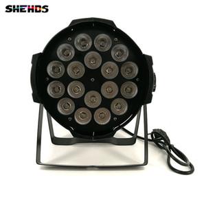 알루미늄 합금 LED 동위 18x12W RGBW 4in1 LED 동위는 Par 64에 의하여지도 된 스포트라이트 dj 영사기 세척 점화 할 수 있습니다